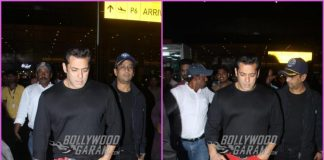 Salman Khan makes a stylish appearance at airport