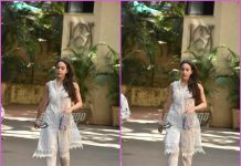 Sara Ali Khan looks pretty in ethnic wear