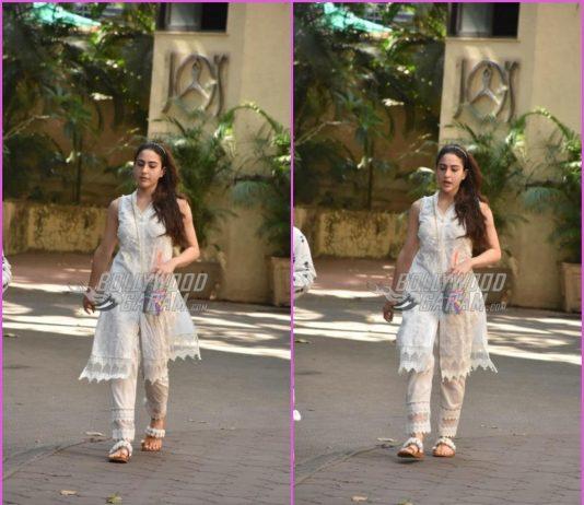 Sara Ali Khan looks pretty in ethnic wear