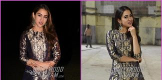 Sara Ali Khan looks gorgeous while promoting Kedarnath