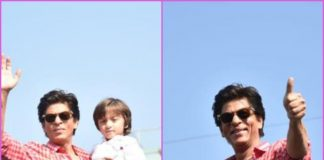 Shah Rukh Khan greets fans on his birthday with son AbRam