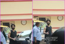 Shahid Kapoor looks dapper at gym