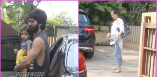Shahid Kapoor and Mira Rajput on casual outing with daughter