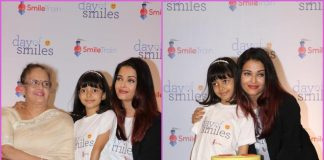 Aishwarya Rai Bachchan graces Smile Train event with daughter Aaradhya
