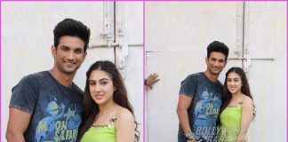 Sushant Singh Rajput joins Sara Ali Khan at promotions of Kedarnath