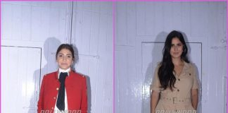 Anushka Sharma and Katrina Kaif promote Zero at a popular studio