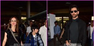 Hrithik Roshan, Sussanne Khan and their sons return from London holiday