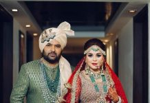 Kapil Sharma and Ginni Charath look royal in their first wedding picture