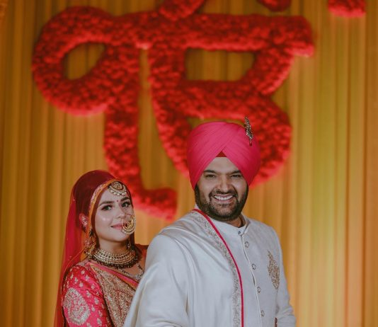 Kapil Sharma shares his Anand Karaj wedding ceremony picture with wife Ginni Chatrath