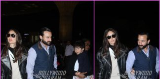 Kareena Kapoor, Saif Ali Khan and Taimur Ali Khan off to London