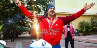 Ranveer Singh receives a pleasant surprise from Adidas