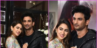 Sara Ali Khan and Sushant Singh Rajput promote Kedarnath together