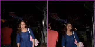 Sara Ali Khan takes a casual stroll in the city