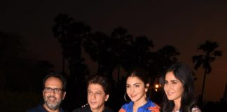 Shah Rukh Khan, Anushka Sharma and Katrina Kaif promote Zero together
