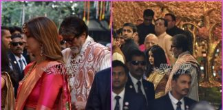 Amitabh Bachchan and Jaya Bachchan grace Isha Ambani's wedding ceremony