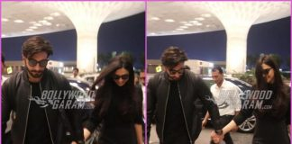 Deepika Padukone and Ranveer Singh twin in black as they head for their honeymoon