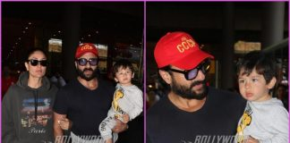 Kareena Kapoor, Saif Ali Khan with son Taimur Ali Khan return from South African holiday
