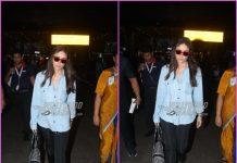 Kareena Kapoor makes a stylish return from Dubai