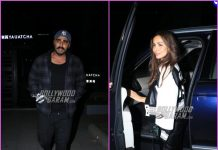 Malaika Arora and Arjun Kapoor on a dinner date together