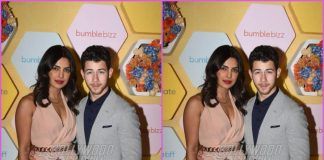 Priyanka Chopra and Nick Jonas grace an event in Delhi