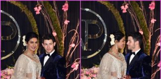 Priyanka Chopra and Nick Jonas pose as newly-weds at Delhi wedding reception – Photos