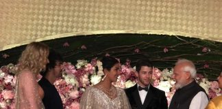 Prime Minister Narendra Modi  graces Priyanka Chopra and Nick Jonas Delhi reception
