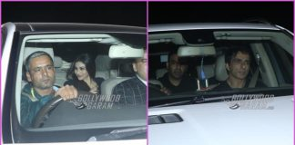 B'towners arrive for a mid night bash to wish Salman Khan on his birthday