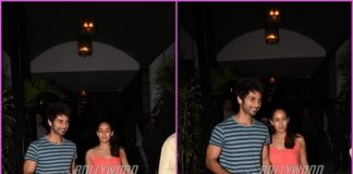 Shahid Kapoor and Mira Rajput spend quality time over dinner