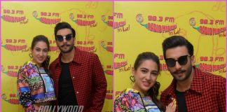 Sara Ali Khan and Ranveer Singh promote Simmba at Radio Mirchi