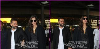 Sonam Kapoor and Anand Ahuja walk hand in hand at the airport