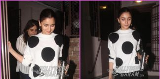 Alia Bhatt busy at recording studio in Mumbai