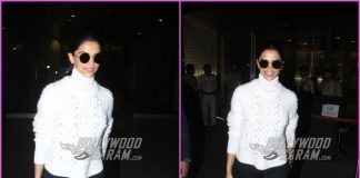 Deepika Padukone makes a dazzling appearance at airport