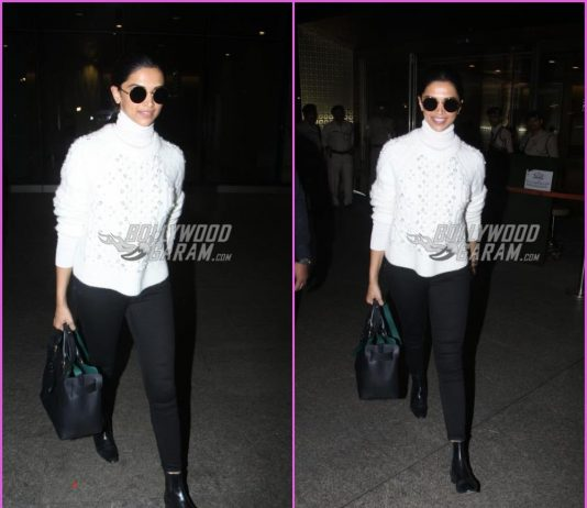 Deepika Padukone makes a dazzling appearance at airport
