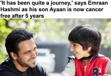 Emraan Hashmi reveals his son Ayaan is now cancer free