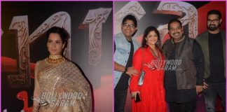 Kangana Ranaut and team of Manikarnika: The Queen of Jhansi launch song Vijay Bhava