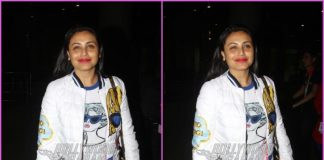 Rani Mukerji looks great in casuals at airport