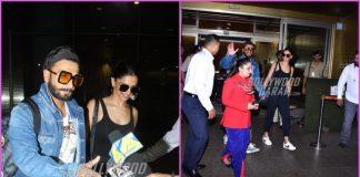 Deepika Padukone and Ranveer Singh return from honeymoon in Sri Lanka