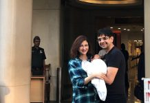 Saumya Tandon shares first glimpse of son with husband Saurabh Singh