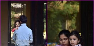 Shahid Kapoor drops daughter Misha at the school