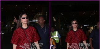 Sonam Kapoor returns in style from Goa wedding
