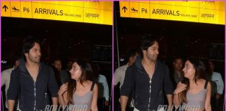 Varun Dhawan and Natasha Dalal return post New Year celebrations abroad