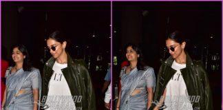 Deepika Padukone makes a stylish return from Bengaluru