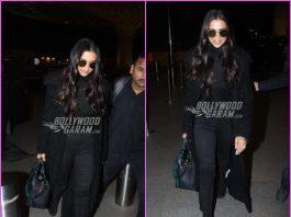 Deepika Padukone nails the airport look as she jets off to Dubai