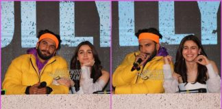 Ranveer Singh and Alia Bhatt share amazing chemistry at trailer launch of Gully Boy