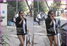Janhvi Kapoor goes casual on a shopping spree
