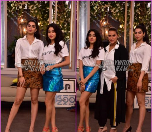 Janhvi Kapoor and Khushi Kapoor shoot for BFFs with Vogue with Neha Dhupia