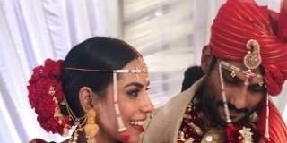 Prateik Babbar gets married to Sanya Sagar