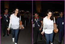 Shraddha Kapoor leaves for Hyderabad to shoot for Saaho