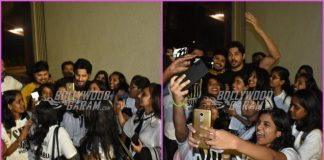 Sidharth Malhotra celebrates birthday with fans