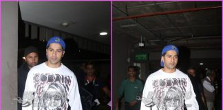 Varun Dhawan returns to Mumbai after wrapping first schedule of 3